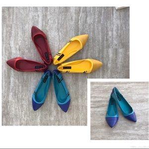 Iron Fist Shoes - Iron Fist Blue Crayola flat